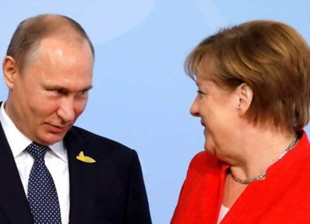 Меркель захотела сделать из Путина «свадебного генерала» Евросоюза