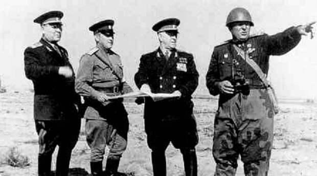 Как маршал Жуков над СССР ядерную бомбу взорвал