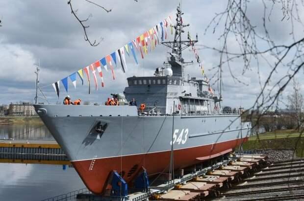 В Санкт-Петербурге спустили на воду новый корабль «Петр Ильичев»