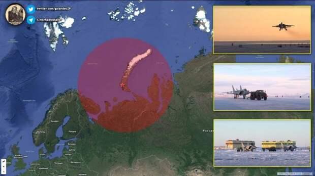 МиГ-31 на Новой Земле могут «закрыть» не только воздух со стороны Европы, но и море