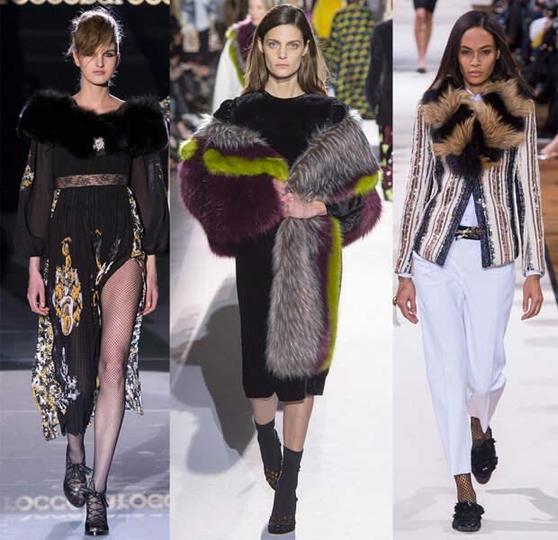 Мех и модные тенденции 2017-2018