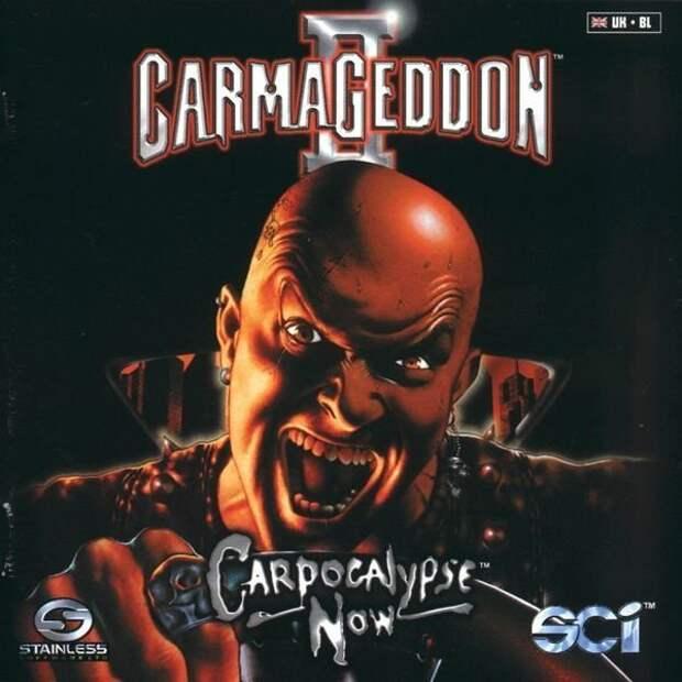 Carmageddon 2: Carpocalypse Now-езда по кочкам 90-е, Stainless Games, carmageddon, джойстик, игра, компьютер