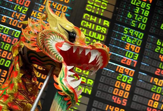 китайский фондовый рынок