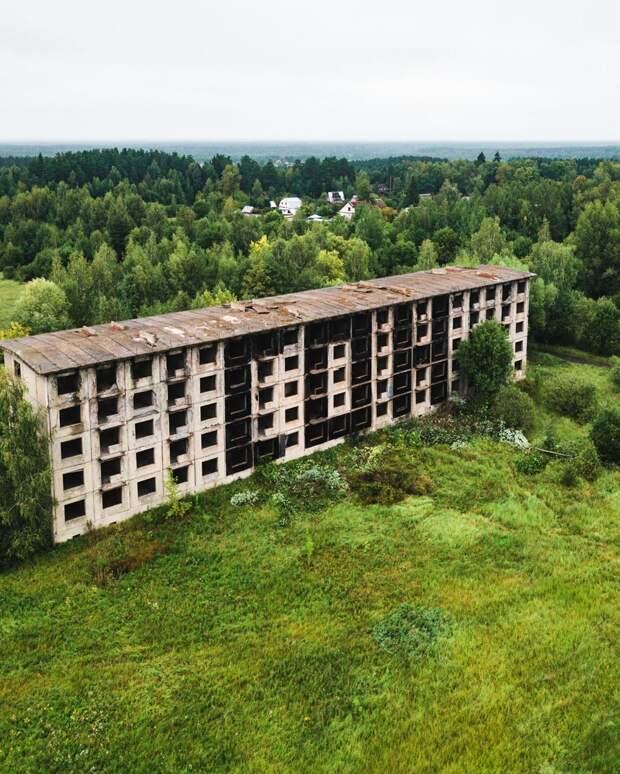Лучшие заброшенные места России в фотопроекте Kosmaj Project