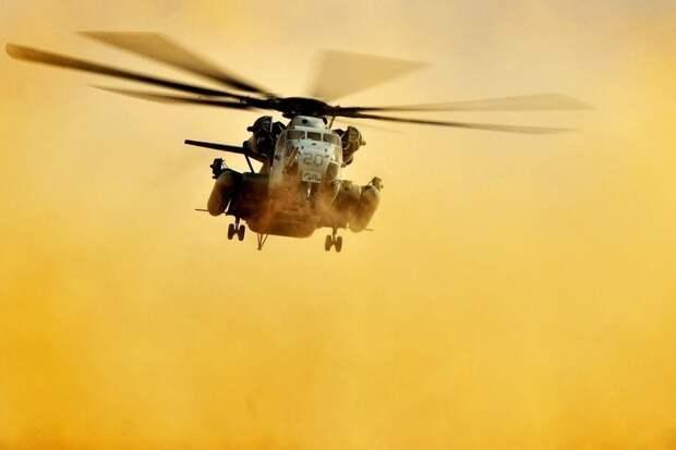В Сирии разбился вертолет армии США