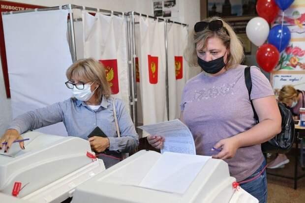 Явка избирателей на думские выборы в Красноперекопске превысила 30%