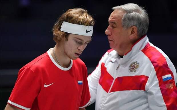 Тарпищев — о поражении Рублева от Циципаса: «С психологией у Андрея проблем нет, сказалась усталость»