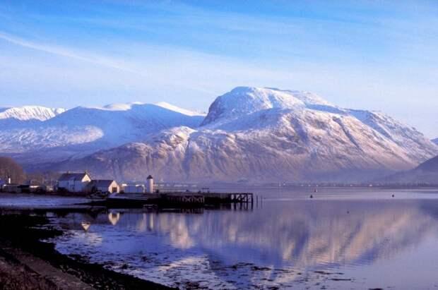 Гора Бен-Невис - самая высокая в Британии Rough Guide, голосование, канада, конкурс, куда поехать, опрос, самые красивые страны, шотландия
