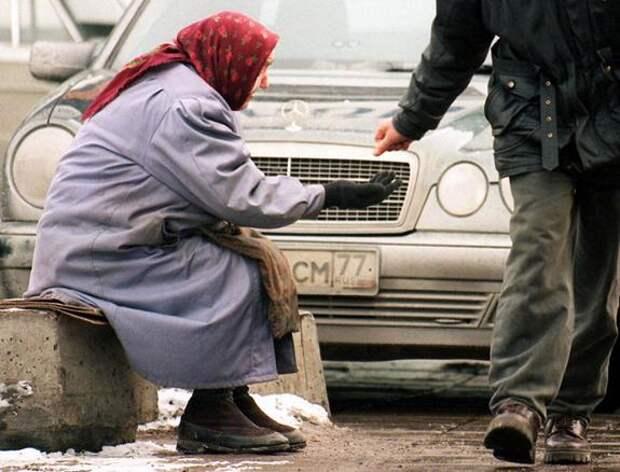 В России продолжает расти уровень бедности
