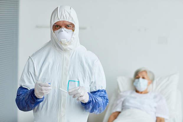 В России за сутки выявили 15038 заражённых COVID-19