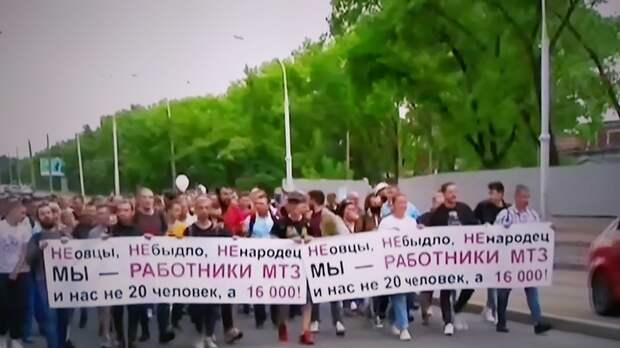 Благодаря ВКС РФ: Протестующих белорусов пересчитали по головам