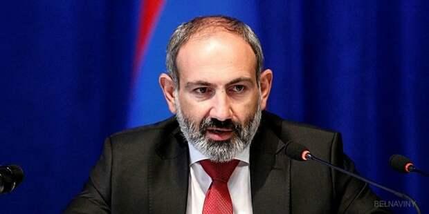 Пашинян на фоне конфликта в Карабахе напомнил об обязательствах России перед Арменией