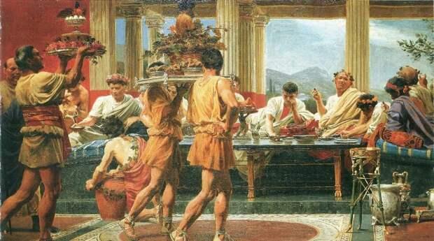 сатурналии в Древнем Риме