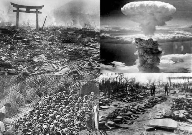 Японцев учат, что Хиросиму и Нагасаки разбомбили русские