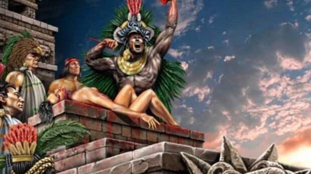 майя, жрец, жертва, бог