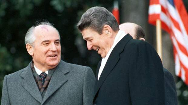2 СССР, анекдот, президент, рейган, сша, юмор