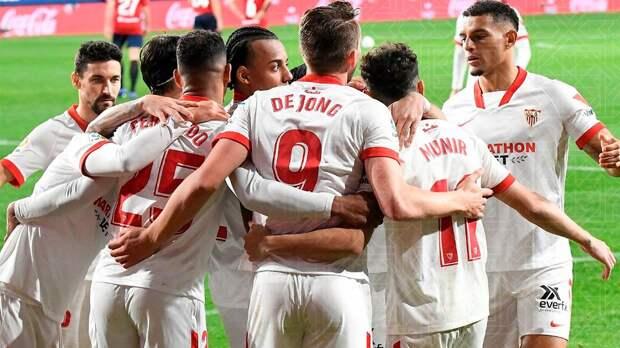 «Севилья» обыграла «Осасуну» и сместила «Барселону» с 3-го места в Ла Лиге