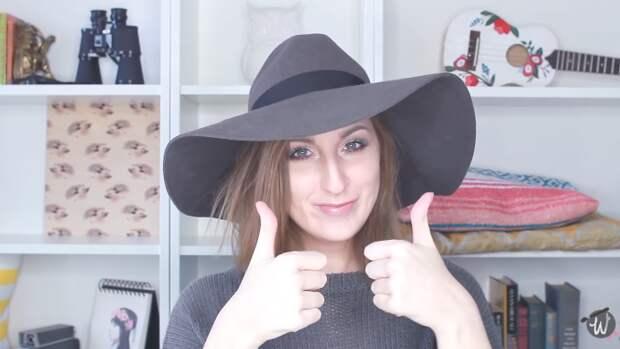 Лёгкий способ уменьшить размер шляпы