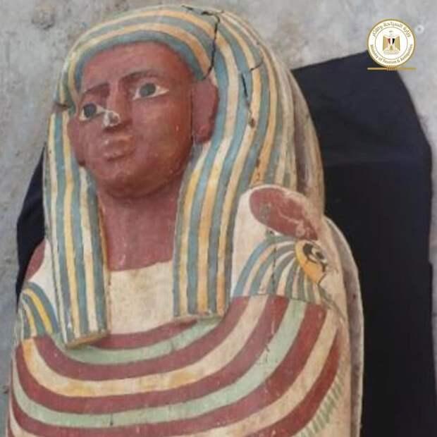 Саркофаги из Саккары. Раскопки января 2021 года / Министерство туризма и древностей Египта