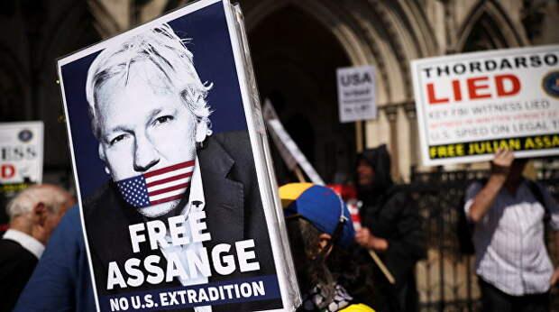 Ассанжа могут экстрадировать в США из-за того, что свидетель хотел защитить его детей