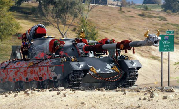 Новый год для тех, кто в танке