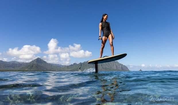 Компания Fliteboard презентовала второе поколение электрических серферов на подводных крыльях