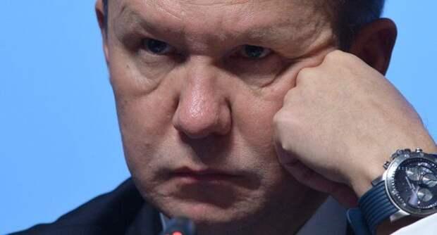 Нафоне убытков «Газпрома» поднялась новая волна слухов оботставке Миллера