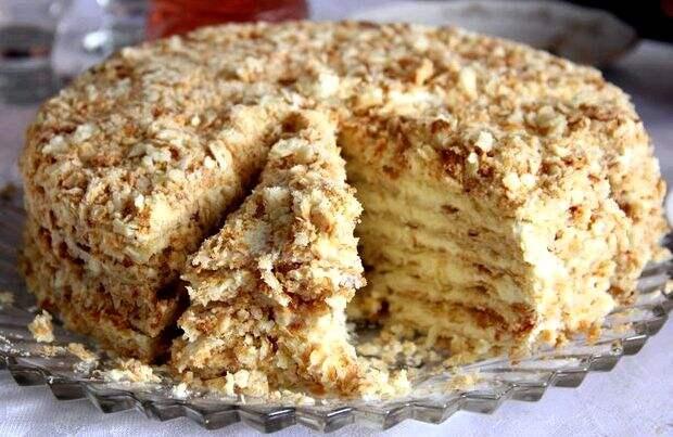 Секреты рецепты вкусного торта «Наполеон», как советские времена