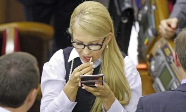 Голый украинец признался в любви Тимошенко (ВИДЕО)