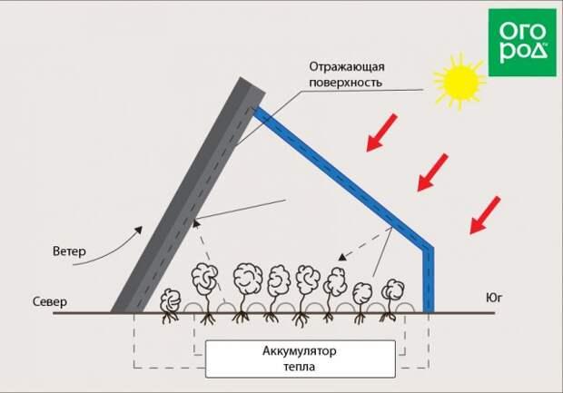 Схема строительства вегетария