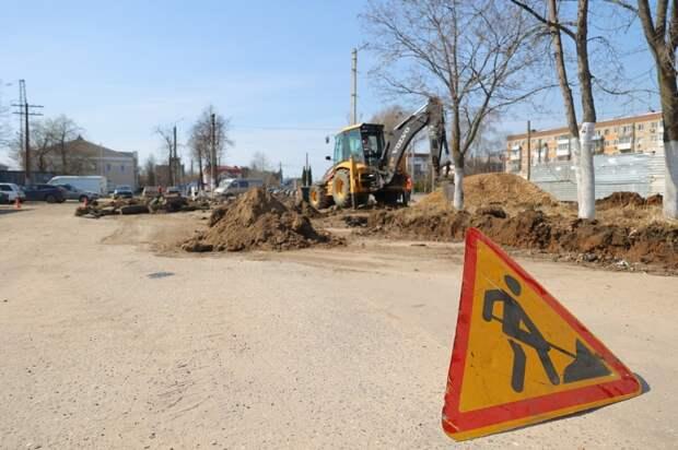 ВДзержинске стартовало благоустройство общественных пространств понацпроекту «Жилье игородская среда»