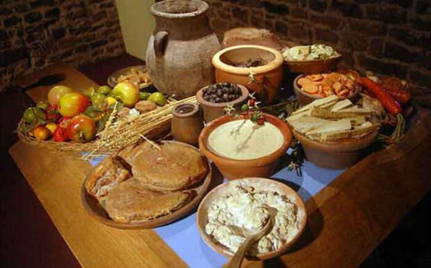 Типичные греческие продукты