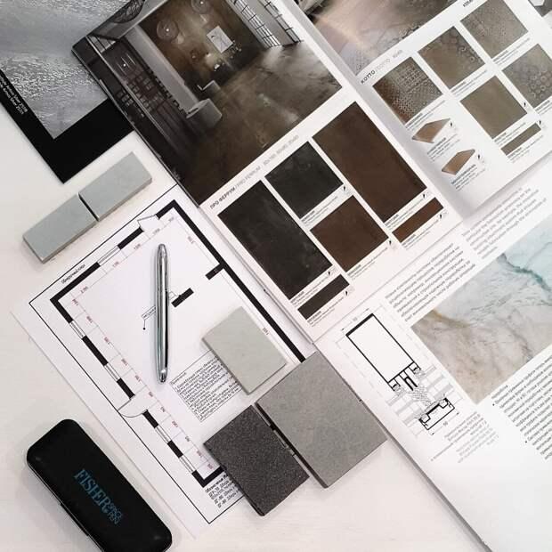 Выбирай материалы и тектуры для ремонта как дизайнер интерьера.