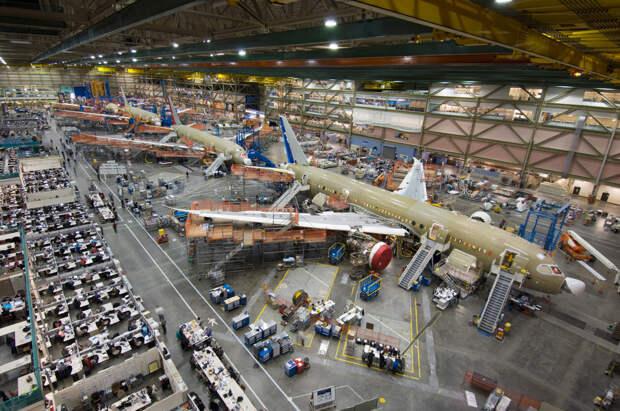 Boeing показал крупнейший квартальный убыток в своей истории