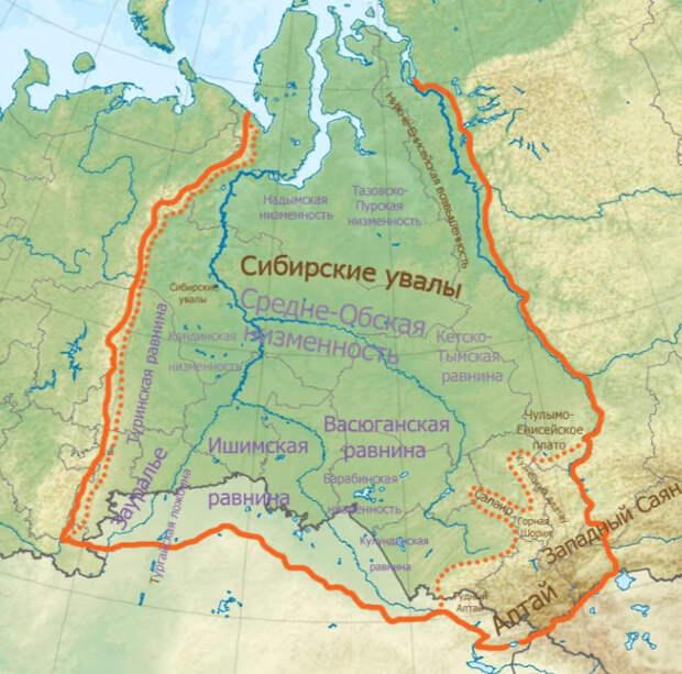 Об огромном подземном океане с горячей водой, обнаруженном под Западной Сибирью