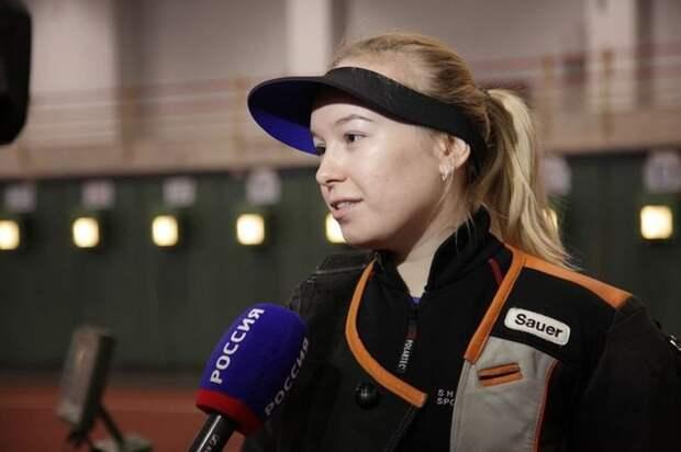 Ижевчанка Юлия Каримова стала первой на Кубке мира по стрельбе