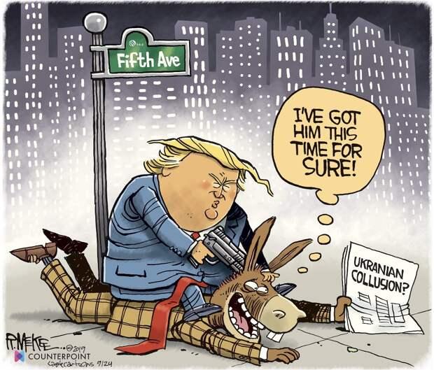 В США запустили процедуру импичмента Трампу