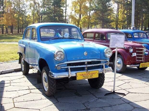 Москви́ч-410 автомобили, москвич, фоторепортаж