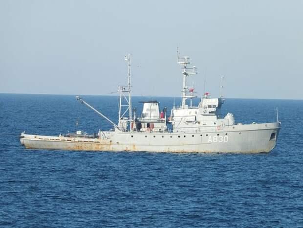 Военные корабли Украины подошли к Крыму