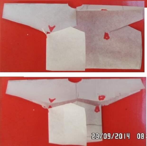 Как сшить пальто из одного отреза ткани 3