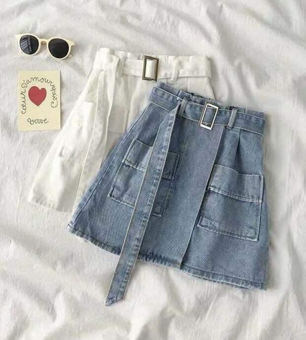 Вещь на все времена! Как стильно носить джинсовую юбку летом