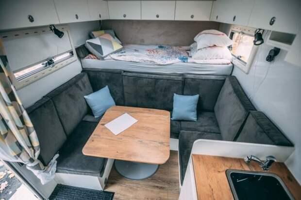 Польская семья отправилась на фургоне Iveco Daily в кругосветное путешествие