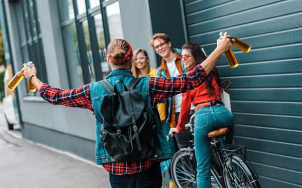 В Чехии велосипедистам разрешили ездить подшофе