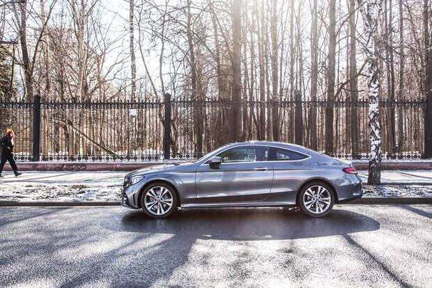 Тест-драйв: Mercedes-Benz C 200 4Matic Sport Coupe