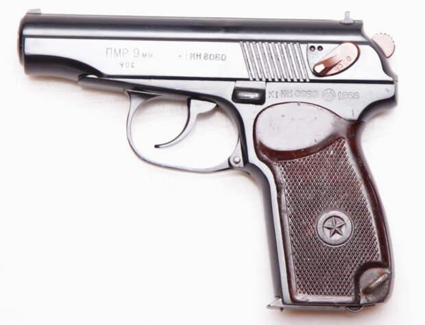 ПМР – отличный образец оружия для самообороны