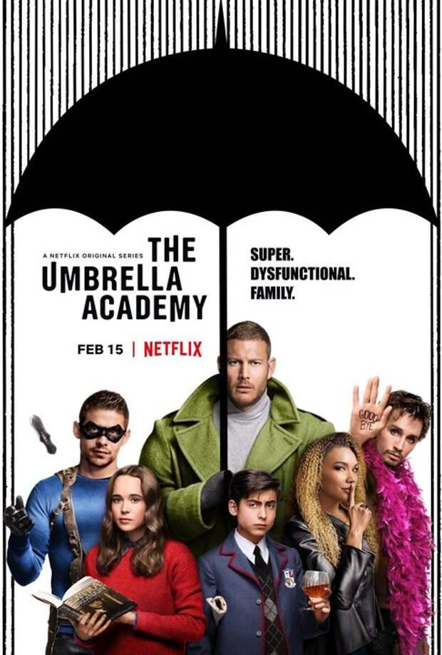 Новый трейлер к сериалу «Академия Амбрелла»