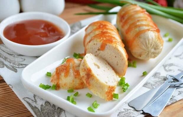 Обалденные домашние сосиски с курицей
