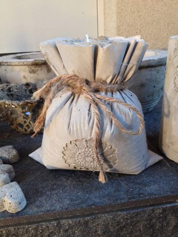 Дачный декор из бетона подборка diy