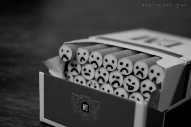 Как бросить курить? Сделать сигарету некрасивой!