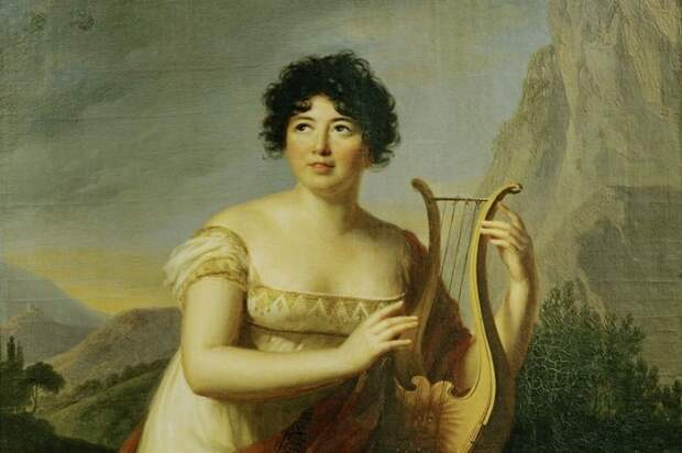 Наполеон не умел оппонировать в дискуссии и Анне де Сталь просто говорил гадости с переходом на личности. Выигрывала в глазах окружающих в резальтуте мадам де Сталь.